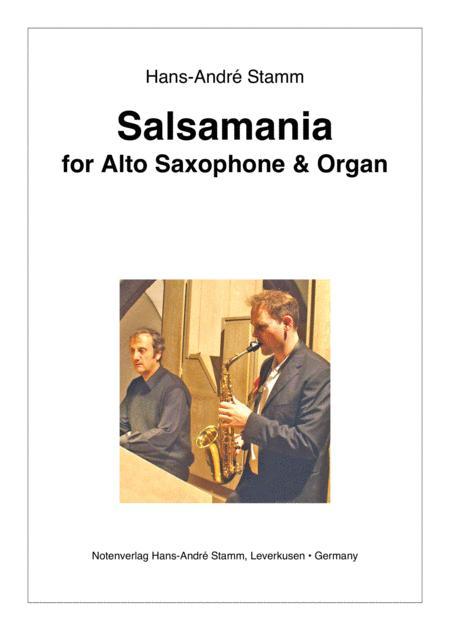 Salsamania for Alto Saxophone & Organ