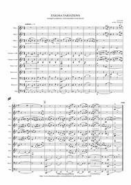 Elgar: Theme and 10 Variations (including Nimrod) from Enigma Variations Op.36 - wind dectet (and bass)