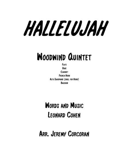 Hallelujah for Woodwind Quintet