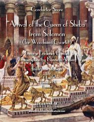Arrival of the Queen of Sheba (for Woodwind Quartet)