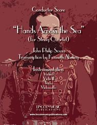 March - Hands Across the Sea (for String Quartet)