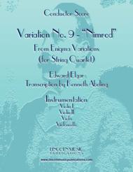 Elgar - Nimrod from Enigma Variations (for String Quartet)