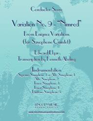 Elgar - Nimrod from Enigma Variations (for Saxophone Quintet SATTB or AATTB)