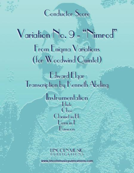 Elgar - Nimrod from Enigma Variations (for Woodwind Quintet)