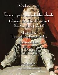 Ravel - Pavane for a Dead Princess (for Saxophone Quartet SATB)