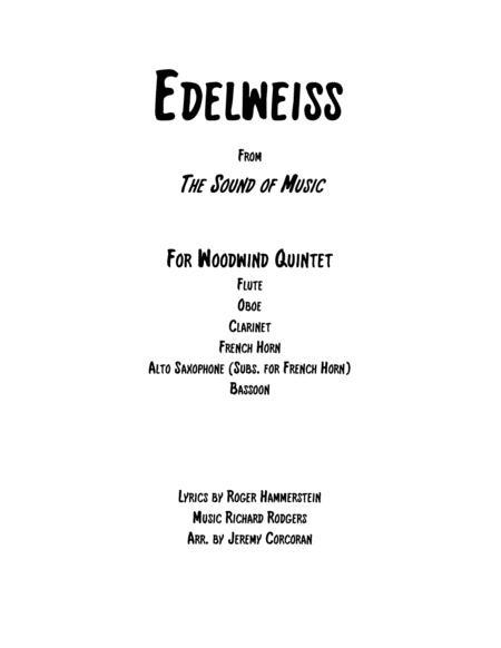 Edelweiss for Woodwind Quintet