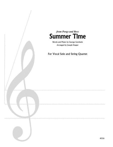 Summertime (High Female Vocal and Strings)