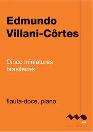 Cinco miniaturas brasileiras (flauta-doce e piano)