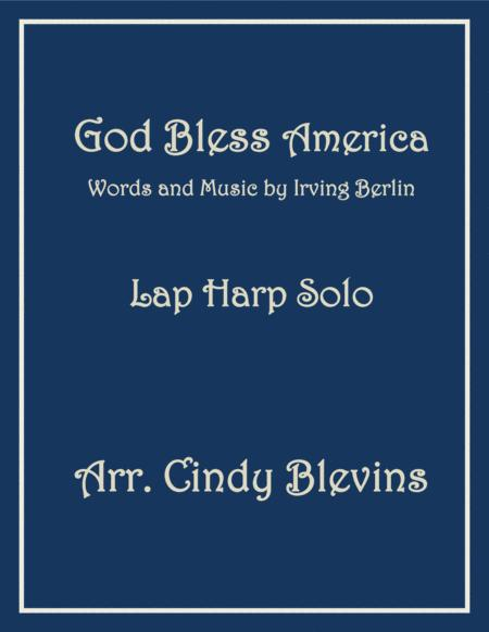 God Bless America, arranged for Lap Harp