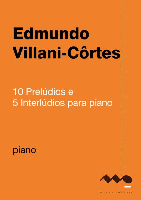 Dez prelúdios e cinco interlúdios para piano
