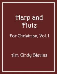Harp and Flute (for Christmas), a book of 14 arrangements for harp and flute