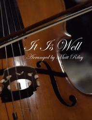 It Is Well - Cello & Piano