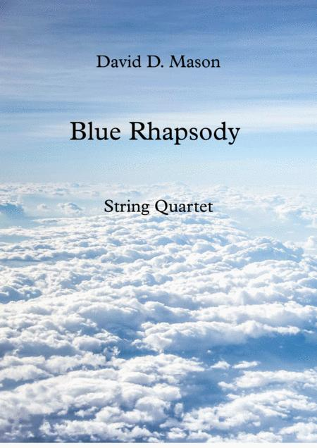 Blue Rhapsody for String Quartet