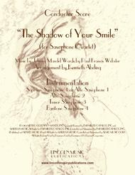 The Shadow of Your Smile (for Saxophone Quartet SATB or AATB)