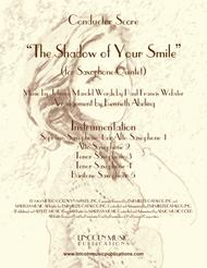 The Shadow of Your Smile (for Saxophone Quintet SATTB or AATTB)