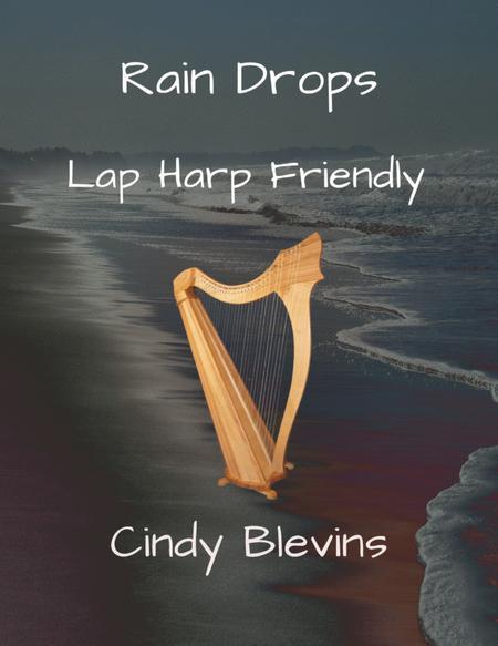 Rain Drops, original solo for Lap Harp, from my book