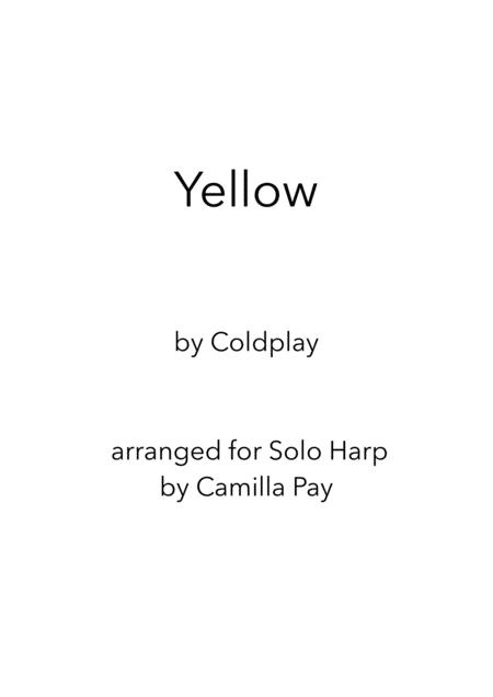 Yellow for Solo Harp
