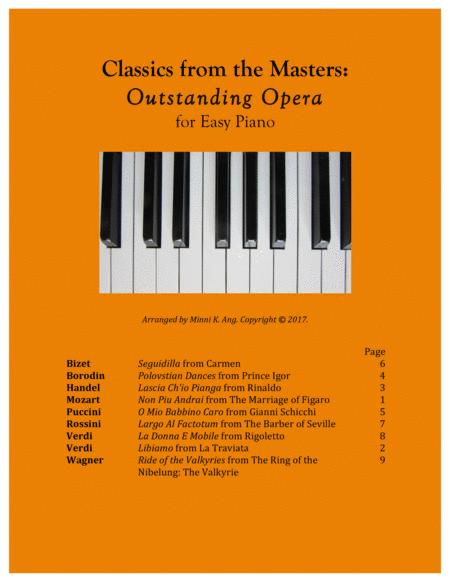 Classics from the Masters: Outstanding Opera