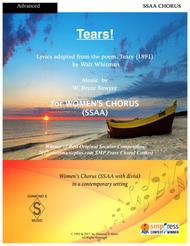 Tears! -  for A cappella Women's Chorus (SSAA) - Winner of 2017 Best Secular Choral Composition