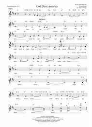 God Bless America - Guitar/Vocal arranged by Sylvia Chapa