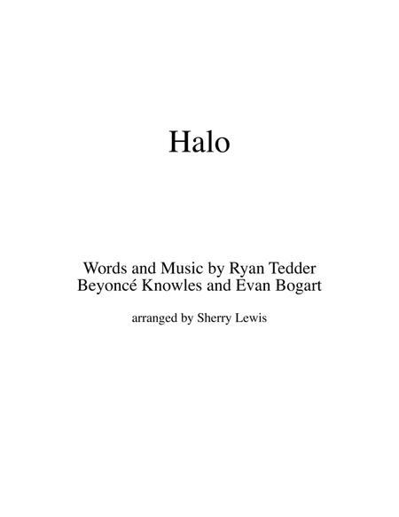 Download Halo, Beyonce, For VIOLIN SOLO Sheet Music By Beyonce ...
