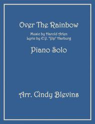Over The Rainbow (from The Wizard Of Oz), arranged for Piano Solo