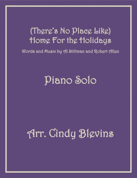(There's No Place Like) Home For The Holidays, arranged for Piano Solo