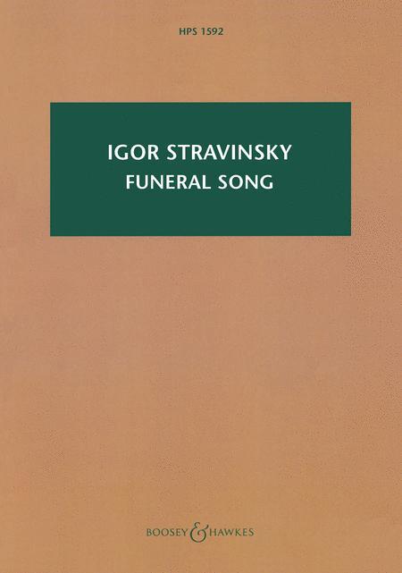 Funeral Song, Op. 5