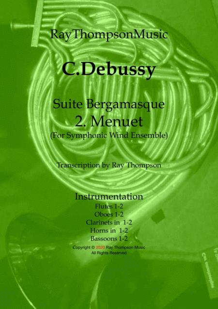 Debussy: Suite Bergamasque Mvt.2 Minuet - wind dectet