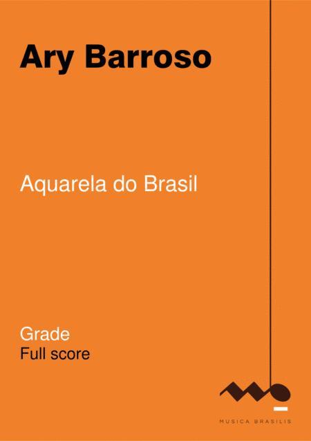 Aquarela do Brasil (orquestra - grade)