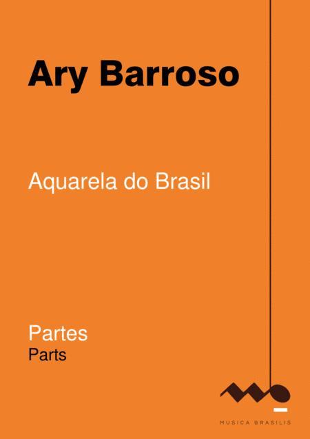 Aquarela do Brasil (orquestra - partes)