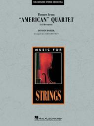 Themes from American Quartet, Movement 1