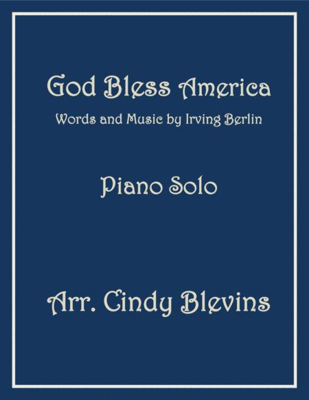 God Bless America, arranged for Piano Solo