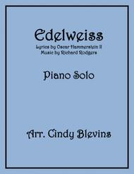Edelweiss, arranged for Piano Solo
