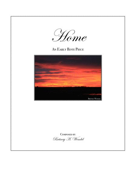 Home - An Early Rote Piece