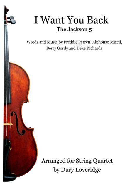 I Want You Back - String Quartet