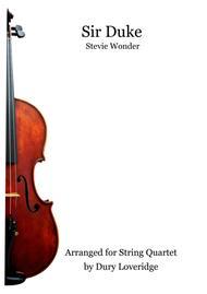 Sir Duke - String Quartet