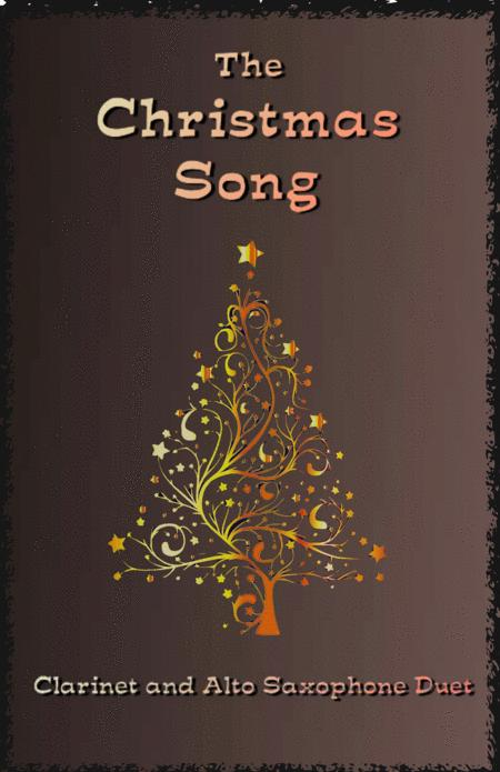 The Christmas Song (Chestnuts Roasting On An Open Fire) Duet for Clarinet and Alto Saxophone