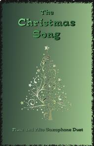 The Christmas Song (Chestnuts Roasting On An Open Fire), Duet for Flute and Alto Saxophone