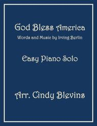 God Bless America, an Easy Piano Solo arrangement