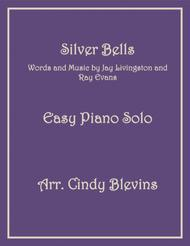 Silver Bells, an Easy Piano Solo arrangement