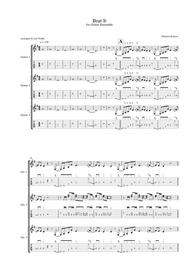 Download Beat It (for Guitar Ensemble) Sheet Music By