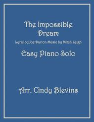 The Impossible Dream, an Easy Piano Solo arrangement