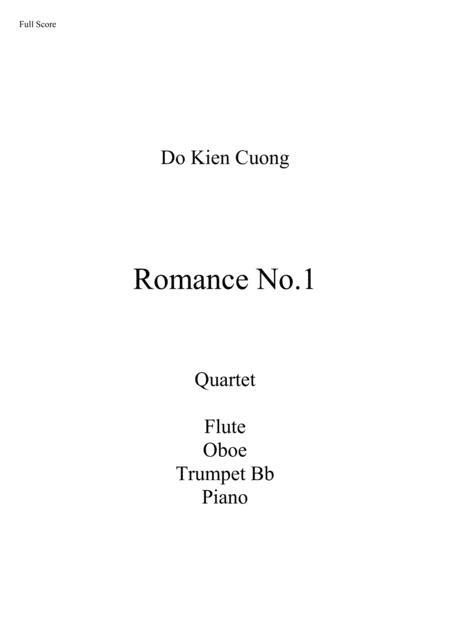 Do Kien Cuong - Romance No.1 - Quartet: Flute, Oboe, Trumpet, Piano
