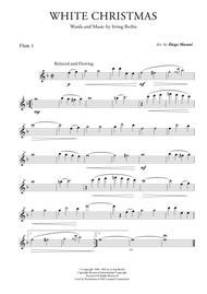 White Christmas for Flute Quartet