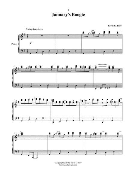 January's Boogie - original piano solo