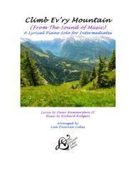 Climb Ev'ry Mountain - A Lyrical Piano Solo for Intermediates