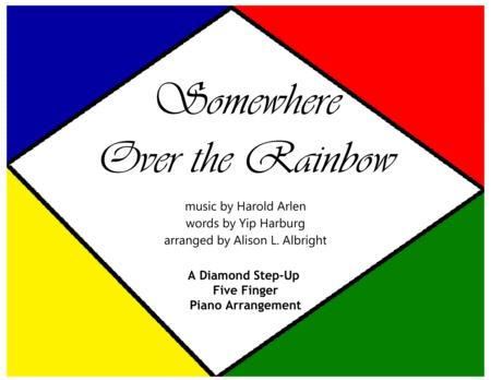 Somewhere Over The Rainbow (easy piano)
