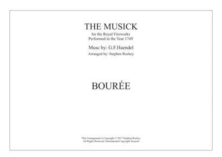 Musick for the Royal Fireworks: BOUREE