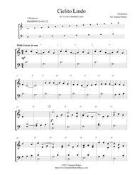 Cielito Lindo - for 3-octave handbell choir